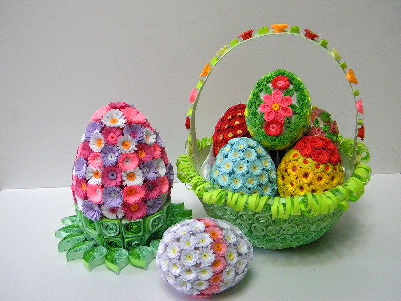 Пасхальные яйца своими руками поделка